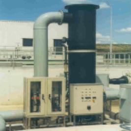 Biofilterinstallatie