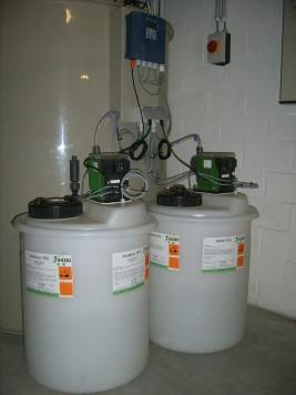 Neutralisatie afvalwaters labo