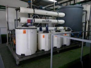 Proceswater behandeling membraanfiltratie