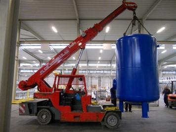 Deferrization of process water