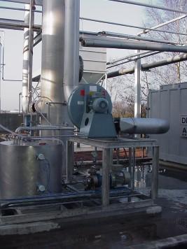 Laveur de gaz phénol