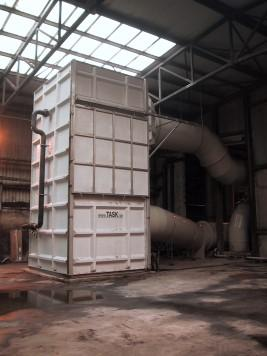 Biofiltration avec humidification