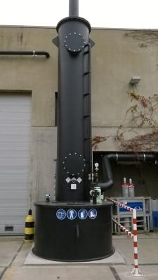 Laveur de gaz compact