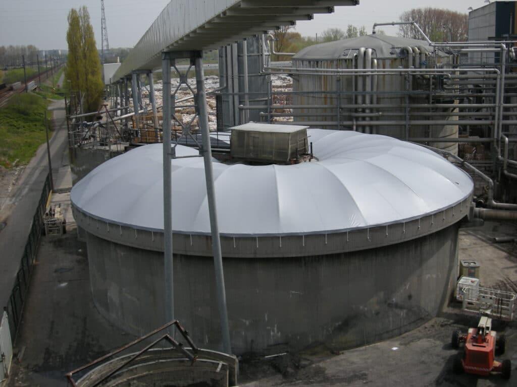 Couverture de bassins