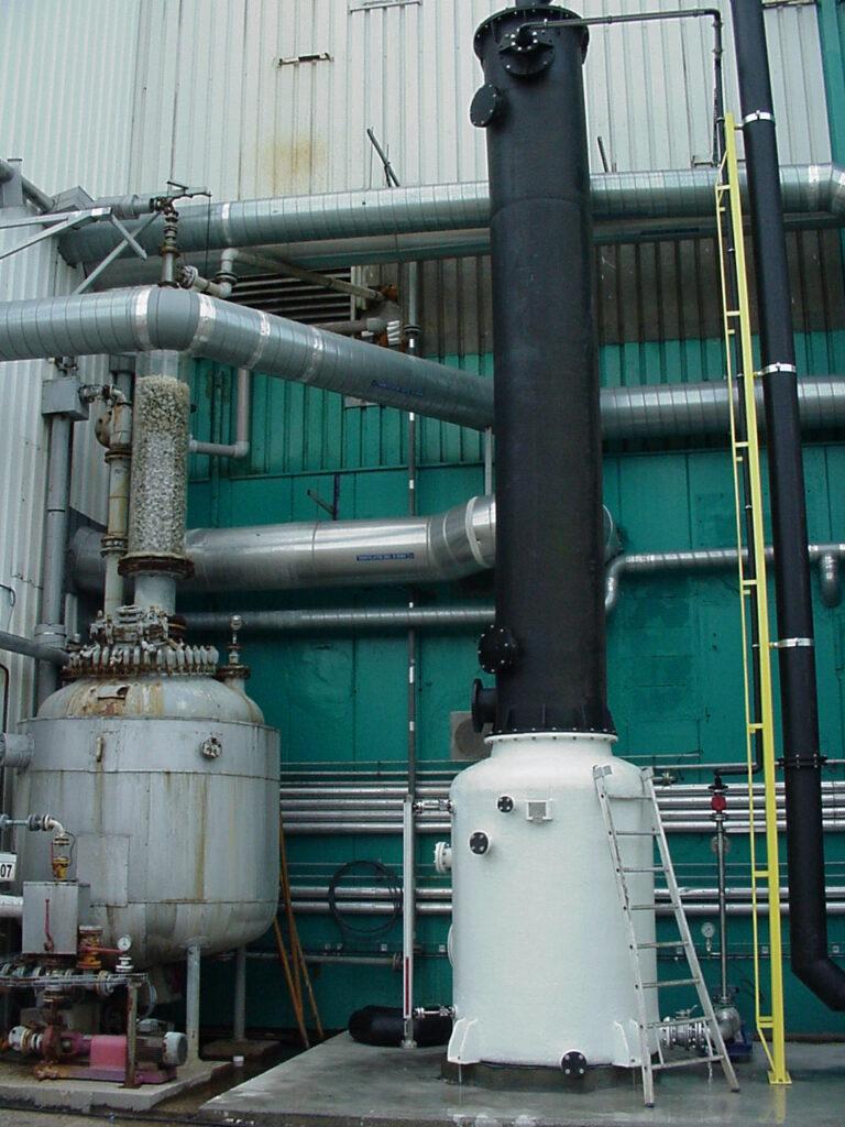 Emission treatment plants