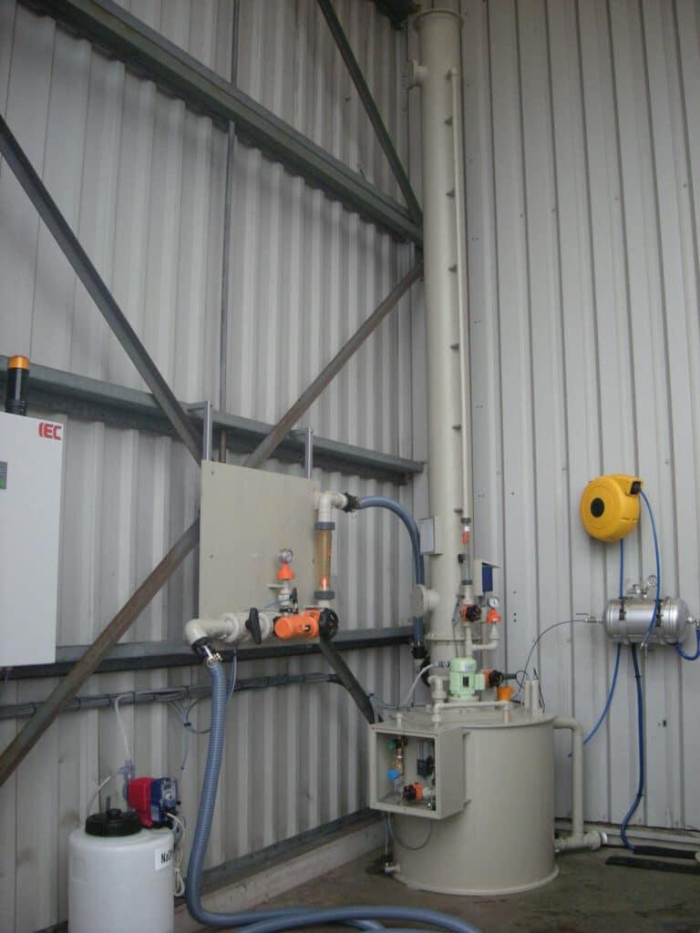 Laveurs de gaz compacts