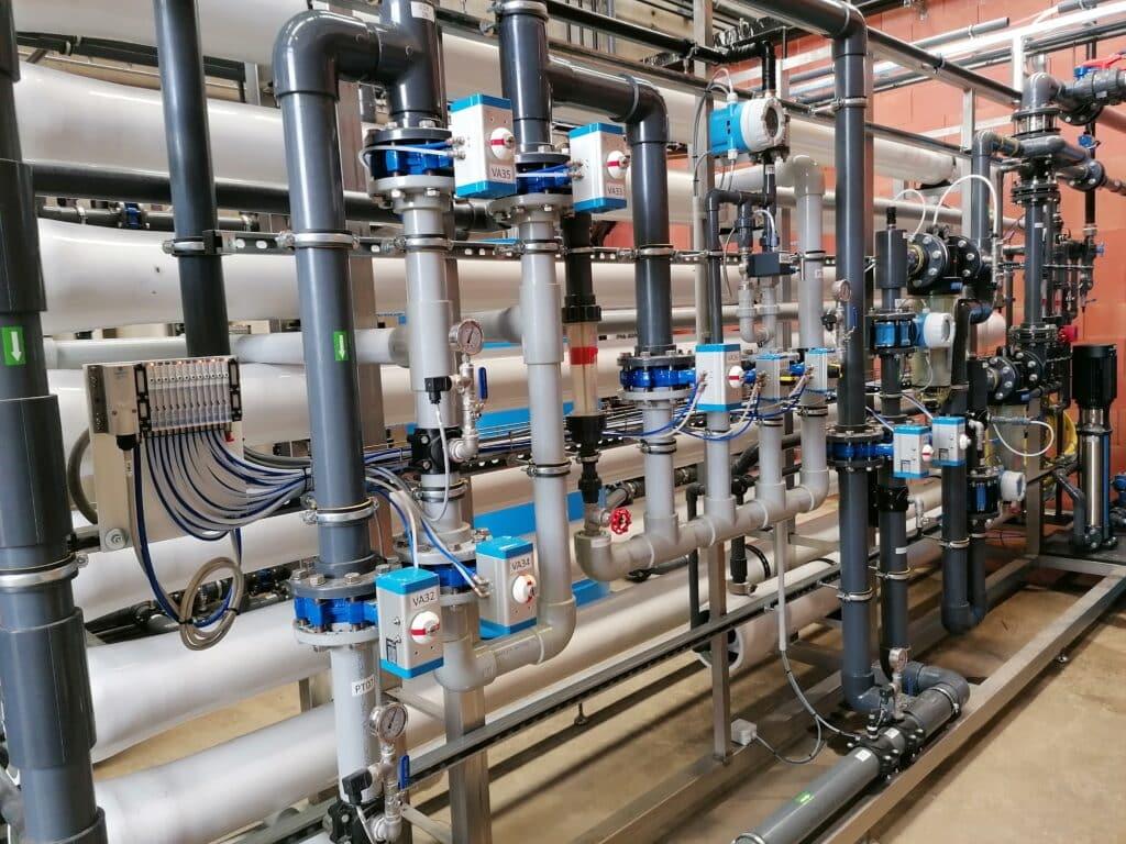 Réutilisation d'eau industrie alimentaire eau potable