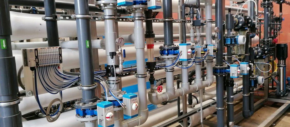 Waterhergebruik tot drinkwatervoedingsindustrie